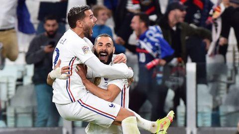 Francia vence 3-2 a Bélgica con remontada y va a la final de la Nations League
