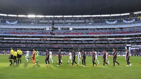 México-Honduras: Aparece nuevo ''grito prohibido'' en el estadio Azteca
