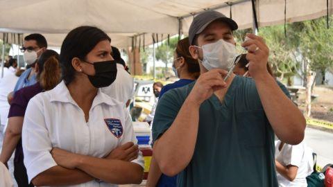 Vacunación en Tijuana de segunda dosis continúa este miércoles