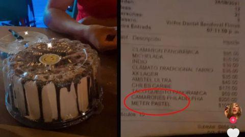 'A $100 la metida'; Le ofrecen guardar pastel en refrigerador y le cobran