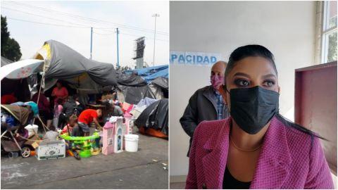 No utilizará violencia Ayuntamiento para desalojar a migrantes de El Chaparral