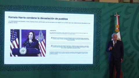 AMLO reconoce a Biden y Harris por proclamación del Día de los Pueblos Indígenas