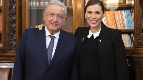 López Obrador y Marina del Pilar Ávila se reúnen un día antes de su visita a BC