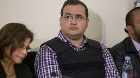 Javier Duarte en cuarentena en el Reclusorio Norte por sospecha de covid