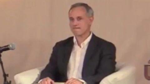 López-Gatell: 'Idea del cubrebocas se convirtió en instrumento de egoístas'