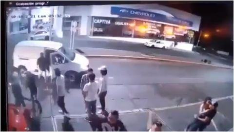 📹 VIDEO: Captan ataque armado en Morelia; seis personas muertas