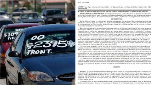 Publica federación acuerdo de regularización de autos 'chocolates'