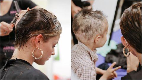 Mariana Rodríguez cumple y se corta el cabello para donarlo a niños con cáncer