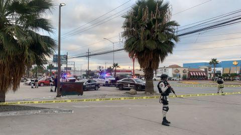 Arrojan restos humanos en diferentes sitios de Tijuana; Macroplaza uno de ellos