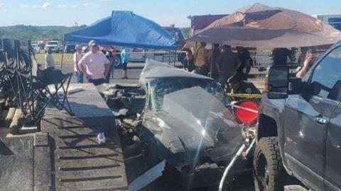 Conductor se estrella contra multitud en evento de carreras; deja dos muertos