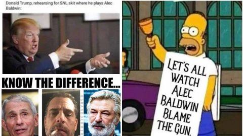 Donald Trump Jr. se burla de Alec Baldwin por disparar a directora